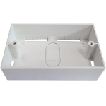 Cablenet 72 2651 White outlet box