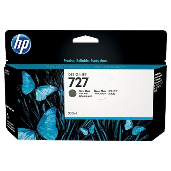 HP F9J79A (727) Ink cartridge bright black, 300ml