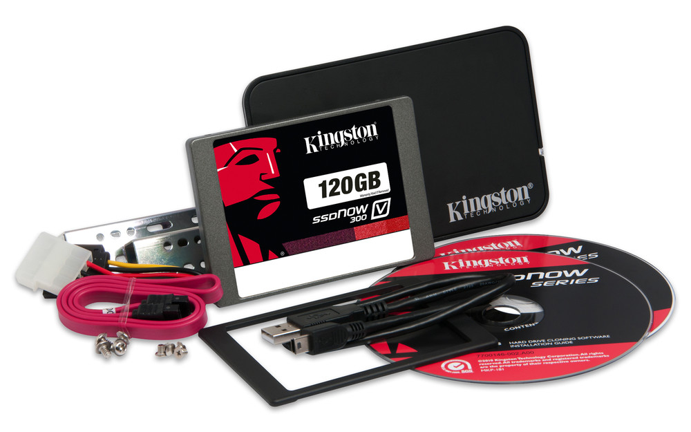 Kingston Technology SSDNow V300 Upgrade kit 120GB