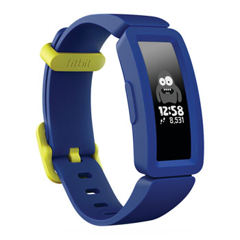 Fitbit Ace 2 - Activity tracker with band - silicone - night sky/neon yellow - band size 117-168 mm