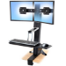 Ergotron WorkFit-S, Dual Sit-Stand Workstation