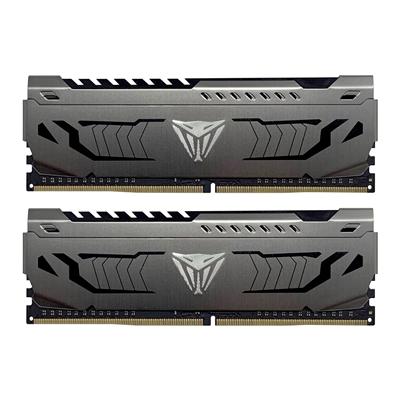 Patriot Memory Viper Steel Series DDR4 64GB (2 x 32GB) 3200MHz Kit w/Gunmetal Grey heatshield