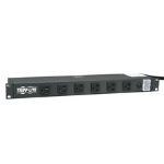 Tripp Lite RS1215-20 1U Black power distribution unit (PDU)