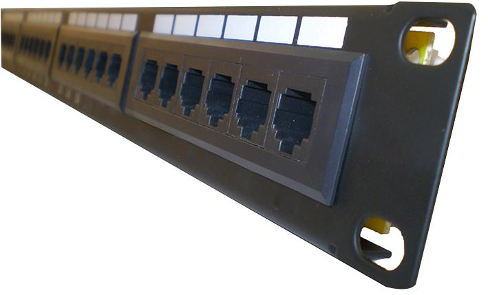 LMS Cat6 Network RJ45 Patch Panel 48 Port 2U 19""