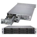 Supermicro SuperServer 6029TR-DTR Intel® C621 LGA 3647 (Socket P) Rack (2U) Zwart