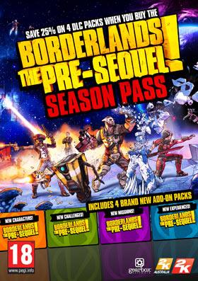 Nexway Borderlands: The Pre-Sequel Season Pass Video game downloadable content (DLC) PC Borderlands The Pre-Sequel Español