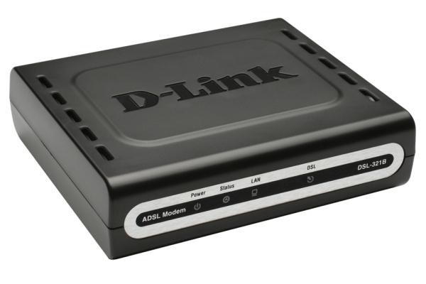 Modem Adsl2/2+ Dsl-321b 1-port 10/100bt Rj45 Enet Anex B