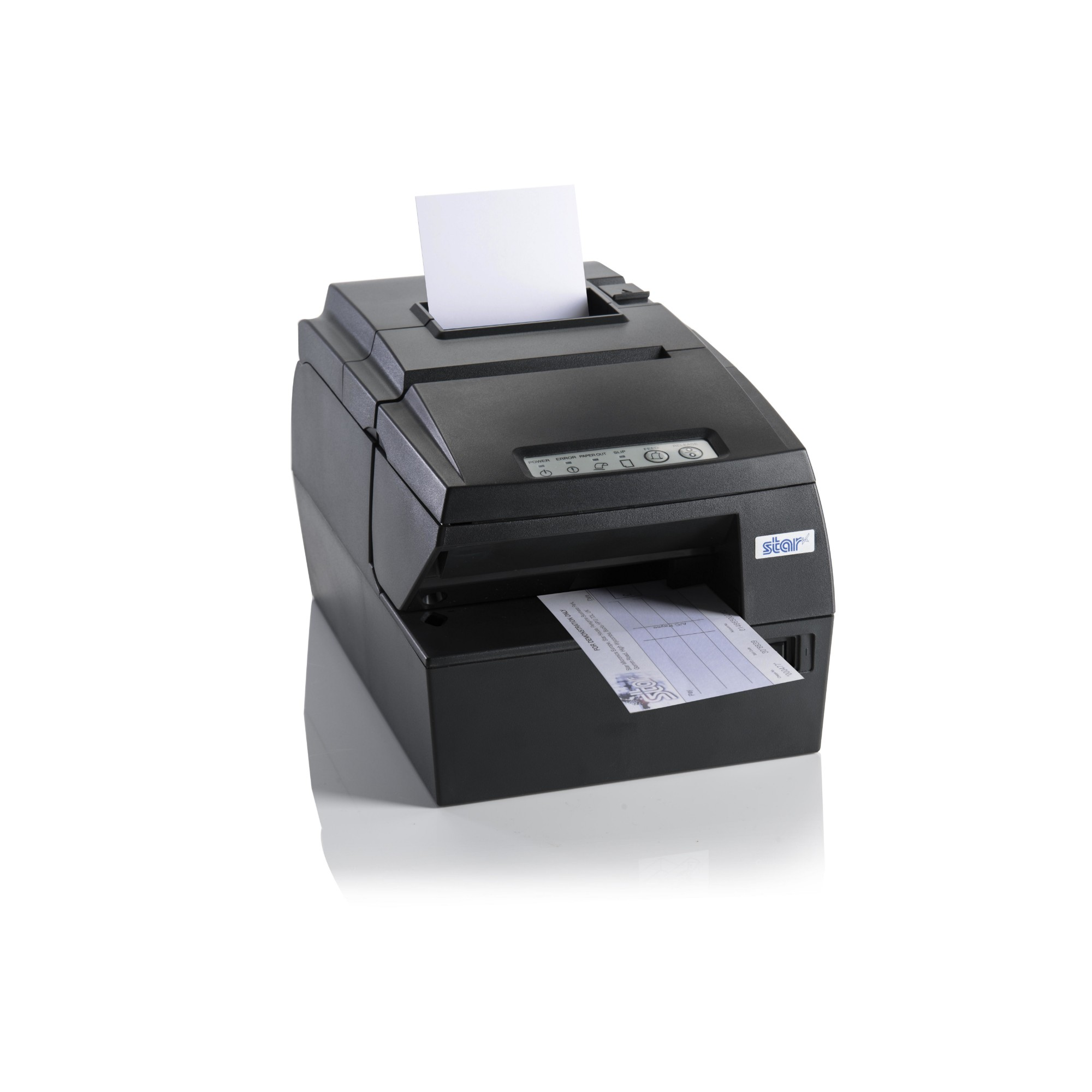 HSP7543-24 - Hybrid Printer - Thermal / Matrix - No Interface - Grey