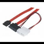 EXC 146330 SATA cable 0.5 m SATA 13-pin 2 x SATA 7-pin Multicolor