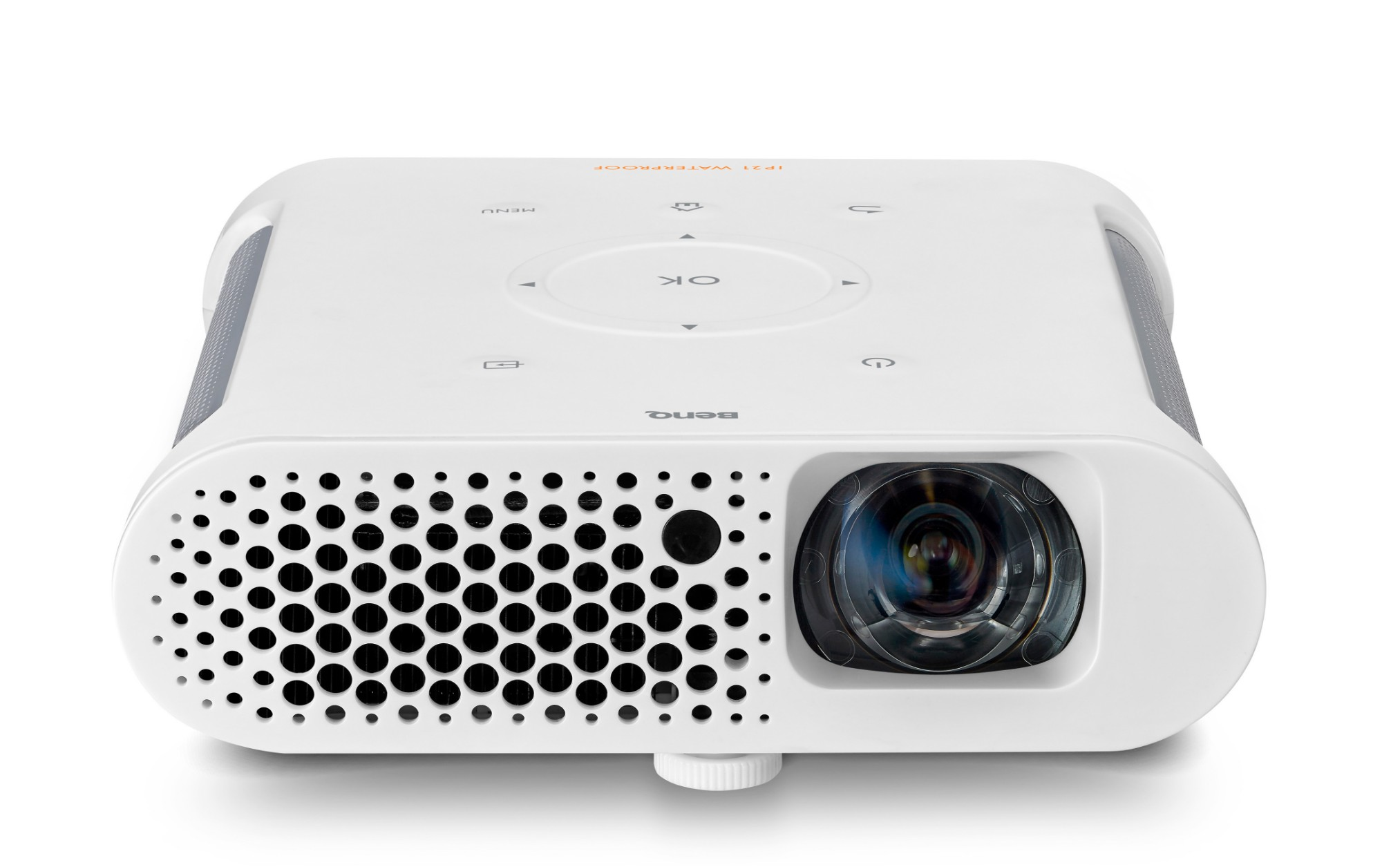 Benq gs1 portable projector 300ansi lumens dlp 720p for Dlp portable projector
