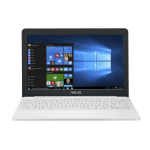 """ASUS X207NA-FD068T 1.1GHz N3350 11.6"""" 1366 x 768pixels White Notebook"""