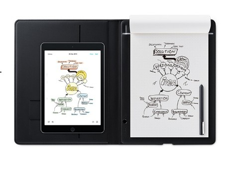 Wacom Bamboo Folio Small graphic tablet 140 x 216 mm USB Grey