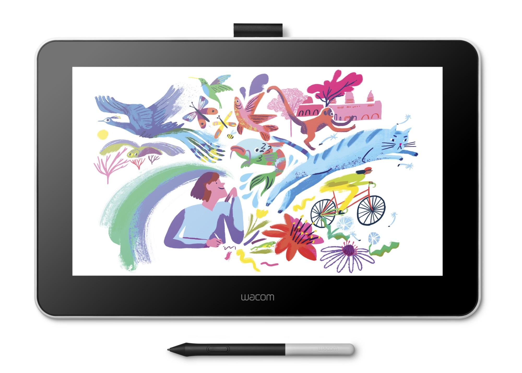 Wacom One 13 graphic tablet 2540 lpi 294 x 166 mm USB White