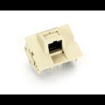 Black Box FM132IV wire connector RJ-45 Ivory