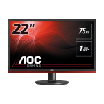 "AOC Gaming G2260VWQ6 LED display 54.6 cm (21.5"") 1920 x 1080 pixels Full HD Flat Matt Black"