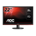 "AOC Gaming G2260VWQ6 LED display 54,6 cm (21.5"") 1920 x 1080 Pixeles Full HD Plana Mate Negro"
