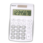 Genie 120B Pocket Calculator 8 Digit Silver