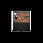 Sapphire - Electric Floor Screen - Infra Red 142cm x 161cm - 4.3 - Electric Floor Raising Screen - SEFL155-V - 4:3 - Black projection screen