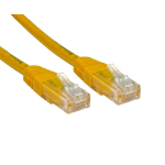 Cables Direct ERT-603Y 3m Cat6 U/UTP (UTP) Yellow networking cable
