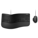 Microsoft Ergonomic Desktop keyboard USB Black
