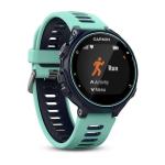 Garmin Forerunner 735XT sport watch Black, Blue 215 x 180 pixels Bluetooth