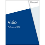 Microsoft Visio Professional 2013, x32/64, 1u, ENG