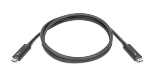 Lenovo 4Z50P35645 Thunderbolt cable 1 m Black 40 Gbit/s