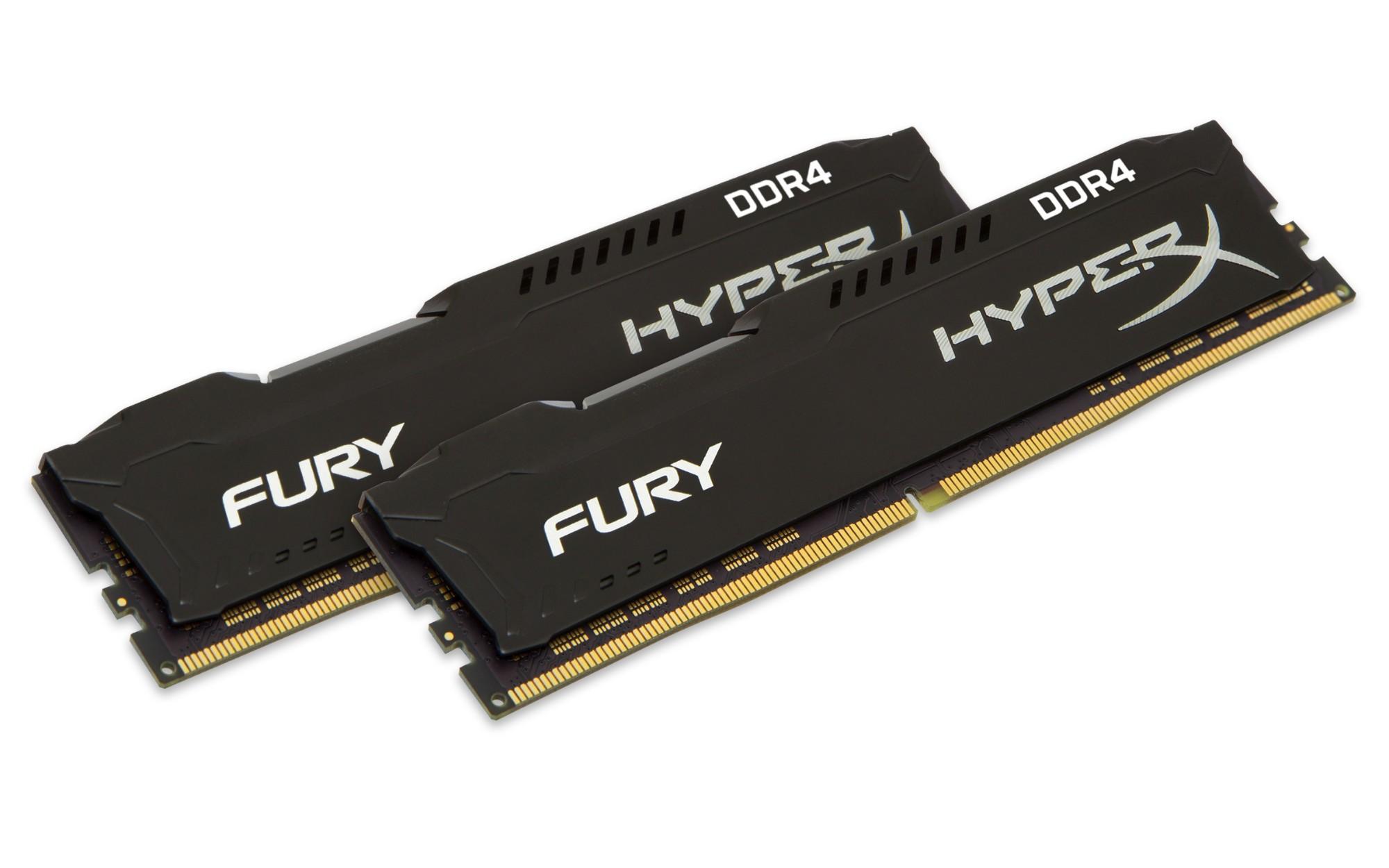 DDR4 3200MHZ 16GB 2X8 HyperX FURY Blk