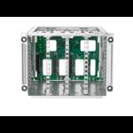 Hewlett Packard Enterprise 874571-B21 power supply enclosure Power supply cage kit Aluminum Metal