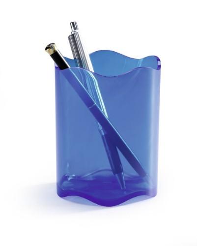 Durable 1701235540 pen/pencil holder Blue,Translucent