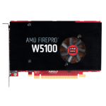 HP AMD FirePro W5100 4-GB grafische kaart