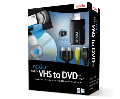 Corel Easy VHS to DVD for Mac video capturing device USB 2.0