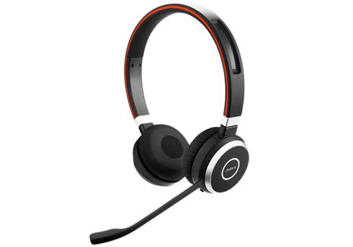 Jabra Evolve 65 UC Stereo Binaural Head-band Black headset