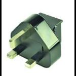 ASUS 0A200-00021100 Type G (UK) Black power plug adapter