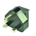 ASUS 0A200-00021100 Type G (UK) Black power plug adapter