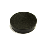 Bi-Office Round Magnets 10mm Black PK10