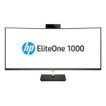"HP EliteOne 1000 G2 68.6 cm (27"") 3840 x 2160 pixels 8th gen Intel® Core™ i7 16 GB DDR4-SDRAM 1000 GB SSD Black All-in-One PC"