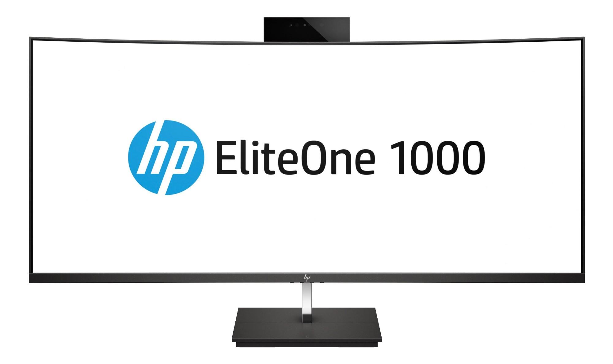 """HP EliteOne 1000 G2 68.6 cm (27"""") 3840 x 2160 pixels 8th gen Intel® Core™ i7 i7-8700 16 GB DDR4-SDRAM 1000 GB SSD Black All-in-One PC"""