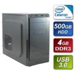 TARGET Intel J1800 Dual Core 2.41GHz 4GB RAM 500GB (Clean Pull) Hard Drive DVDRW Cronus Piano Black Finish