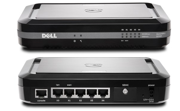 DELL SonicWALL SOHO + TotalSecure 1Y 300Mbit/s hardware firewall