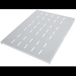 "Intellinet 19"" Fixed Shelf, 1U, 800mm Depth, Heavy-Duty, Grey"