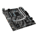 MSI B250M BAZOOKA Intel B250 LGA 1151 (Socket H4) Micro ATX motherboard