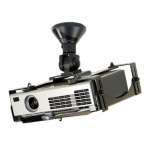 Newstar Universal Projector Ceiling Mount - Black