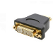 Kramer Electronics DVI-I (F) - HDMI (M) Negro