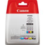 Canon 0386C004 (CLI-571) Ink cartridge multi pack, 7ml, Pack qty 4