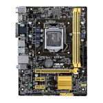 ASUS H81M-A Intel H81 1150 Micro ATX 2 DDR3 2 USB3 HDMI 3 PCIe