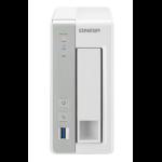 QNAP TS-131P Ethernet LAN Tower Grey,White NAS