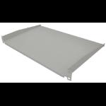 "Intellinet 19"" Cantilever Shelf, 1U, Shelf 300mm, Non-Vented, Grey"