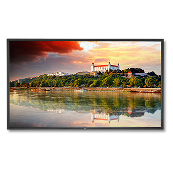 "NEC MultiSync X841UHD-2 Digital signage flat panel 84"" LED 4K Ultra HD Black"