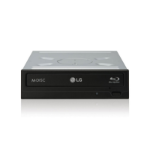 LG BH16NS40 optical disc drive Internal Black Blu-Ray DVD Combo